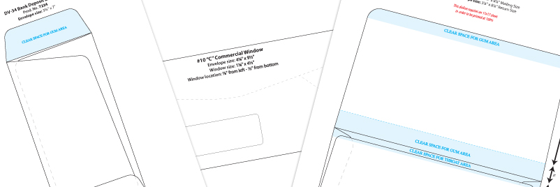 Envelope Templates  Download Envelope Design Template  Wsel