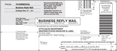 Envelope templates commercial window envelope template wsel press s or right click to sticky box fbccfo Image collections