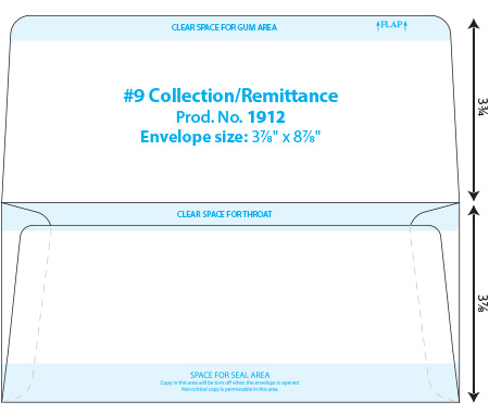 envelope templates collection dual page envelope template wsel