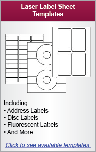 Laser Label Templates